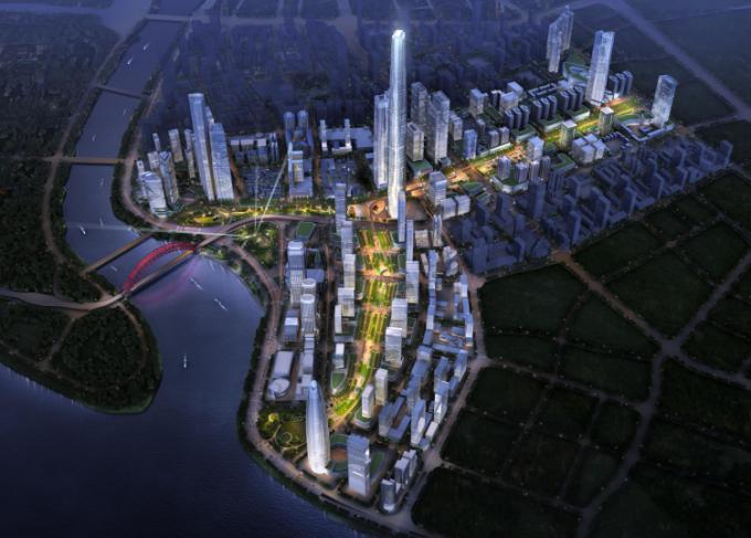 [湖北]生态海绵城市中央绿轴地下立体化商业广场景观绿化设计方案(2017最新)_9