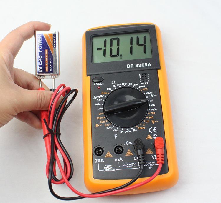 万能表怎样量电机好坏?万能表测电机好坏图解