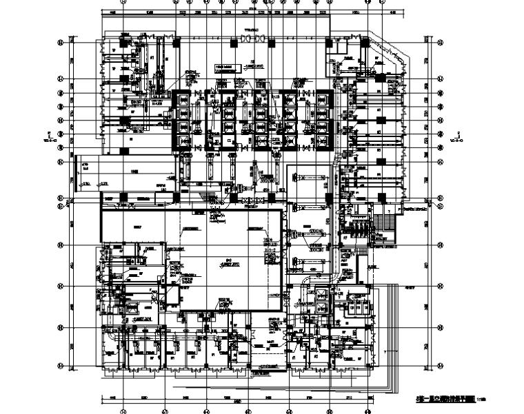 深圳万科超高层研发楼全套暖通施工图