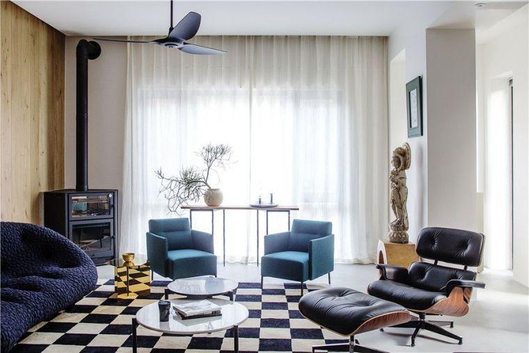 北京350㎡私宅设计,演绎逐光而居的生活!