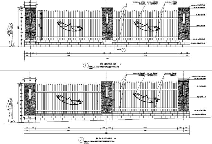 [重庆]生态组团式公租房景观设计全套施工图(园建+绿化+水电)_7