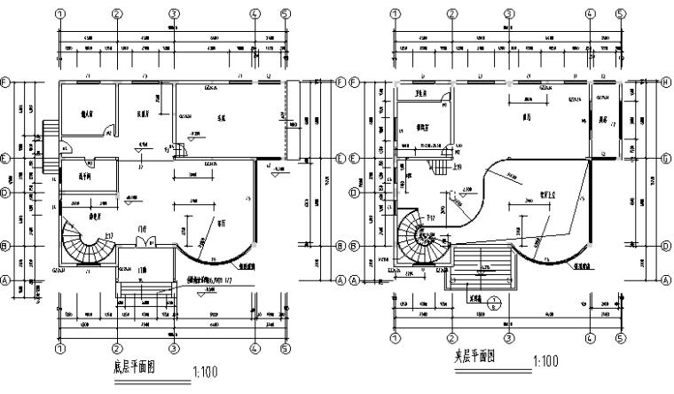 25套多层现代自建房设计施工图