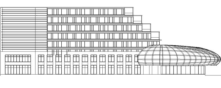 波尔卡酒店酒店CAD施工图_2