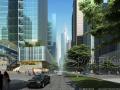 [重庆]解放碑CBD金融街城市景观方案设计