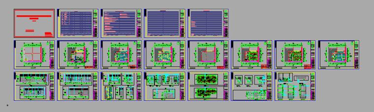 [北京]某医疗器械公司食堂装修设计施工图(含效果图)_6