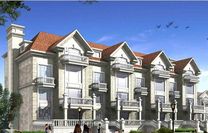 济南市厉城区华山镇付家庄旧村改造别墅建筑设计(包含施工图 +CAD)
