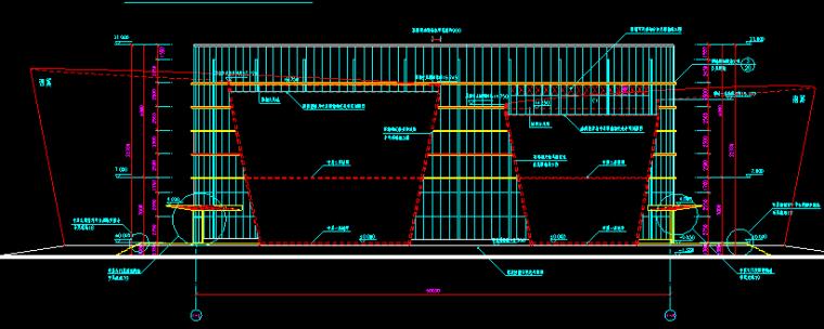 上海青浦博物馆全套建筑施工图