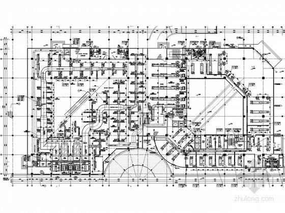 [苏州]大学综合楼空调通风全套施工图(行政办公,图书馆)