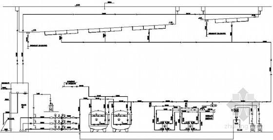 [浙江]体育中心给排水全套施工图纸(含游泳池、大空间主动喷水系统)