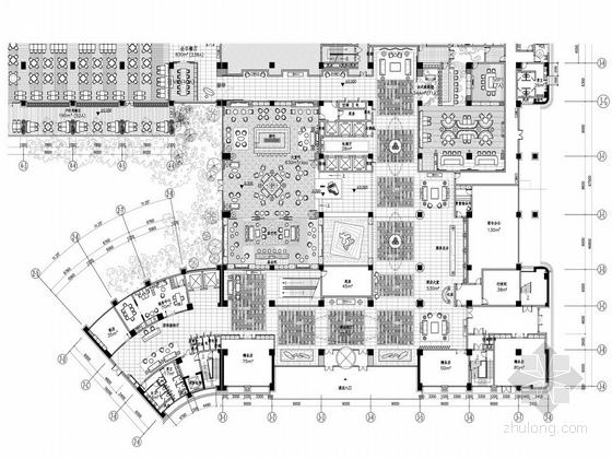 [湖南]别具一格奢华高档五星级商务酒店设计方案