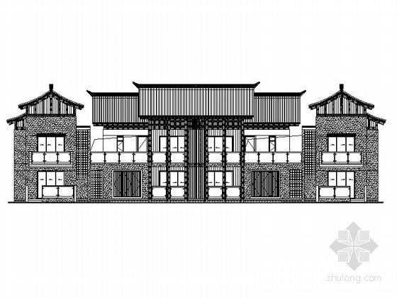 [广东]框架式多层商住楼建筑施工图(知名设计院)