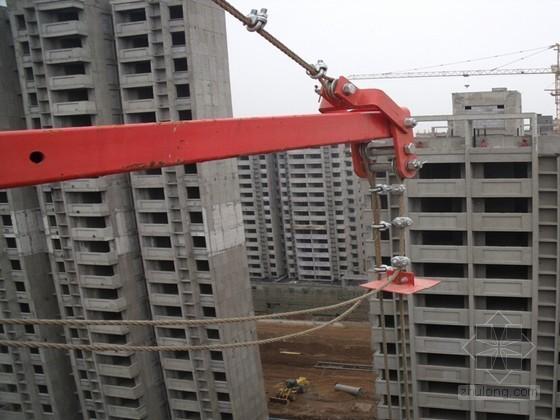 建筑工程高空作业吊篮安装及使用汇报