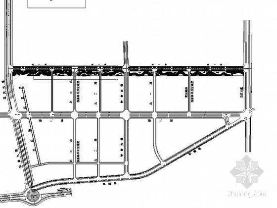 [抚州]道路园林景观工程施工图