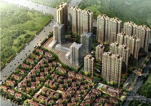 [西安]高层欧式风格住宅建筑设计方案文本(知名地产)