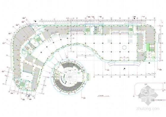 [内蒙]高档现代风格医院门诊楼室内设计方案