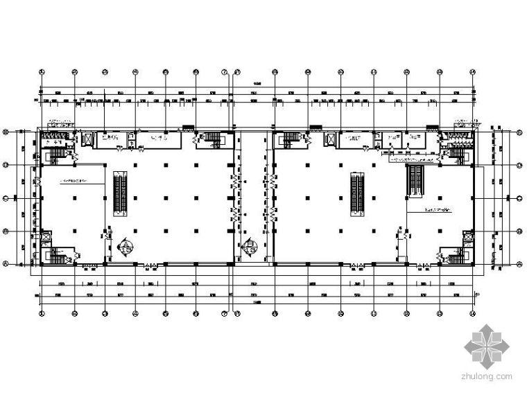 [辽宁]三层购物商场施工图(含效果)
