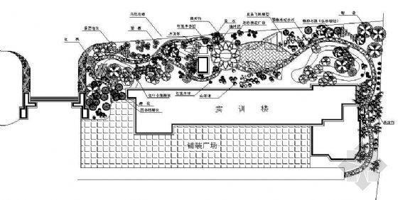 湖南航空职业技术学院实训楼景观设计