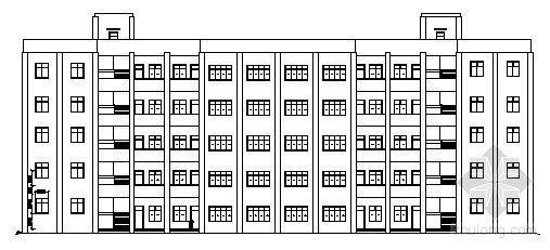 [毕业设计]某五层教学楼建筑结构方案图(含设计说明、荷载计算)