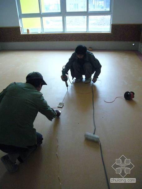 [QC]提高塑胶地板施工质量