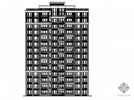 [南京]某十四层住宅楼建筑施工图