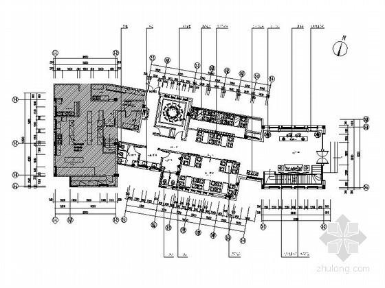 [无锡]现代雅致饭店室内装修图(含效果)