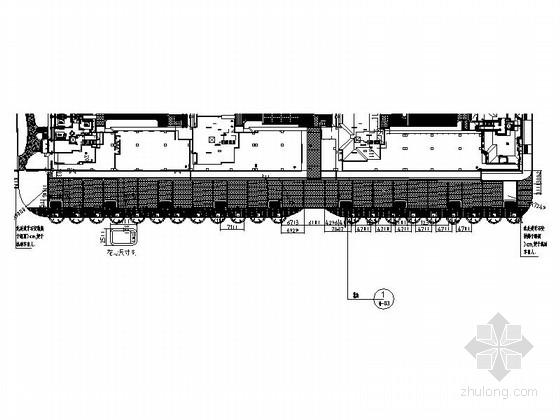 [大连]机场售楼处展示区平面设计施工图