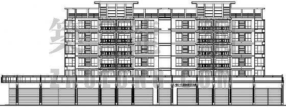 某全套公寓楼建筑施工图