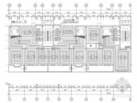 [北京]住宅楼建筑地板辐射采暖系统设计施工图