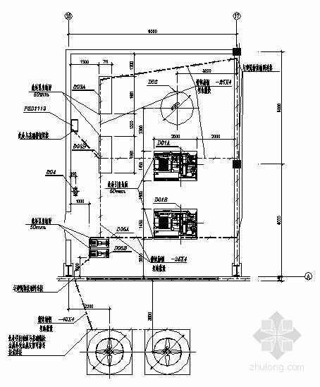 某空压站电气设计图