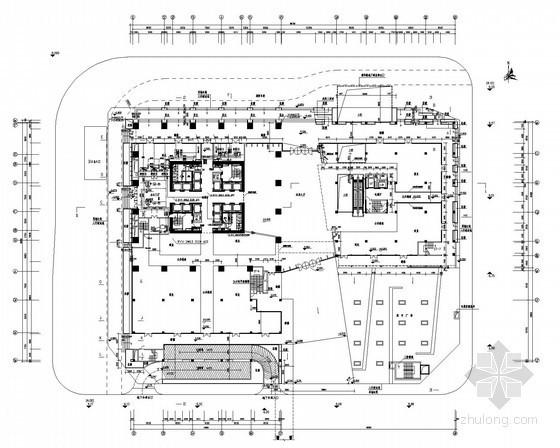 [深圳]超高层写字楼全套电气施工图纸130张