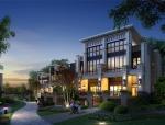 [新疆]简欧式风格大型别墅区建筑设计方案文本