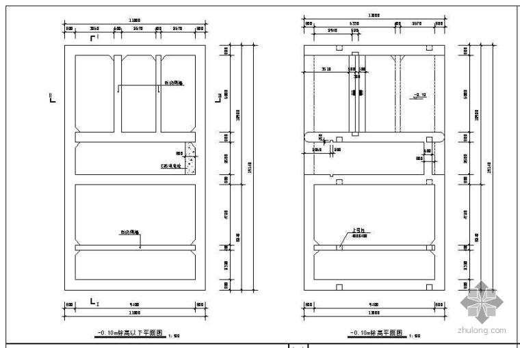 泵站沉井施工图