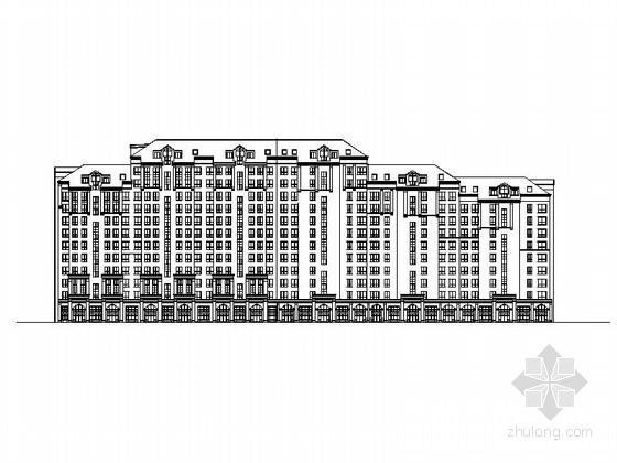 [长春]花园式洋房及小高层住宅小区规划方案图(多种户型)