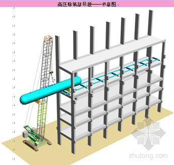 某电厂高压除氧器安装施工工艺