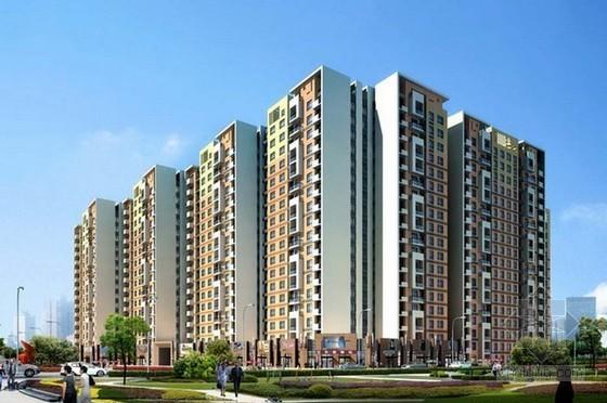 25层框架结构住宅楼建筑安装工程造价指标分析(含地下室)