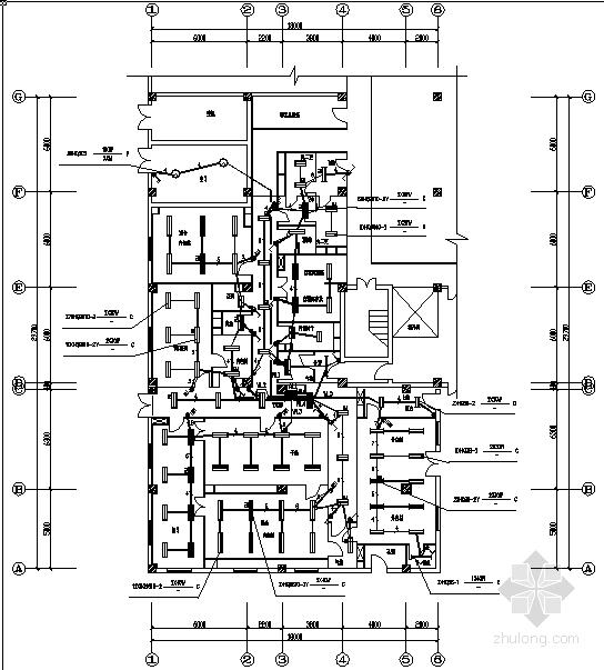 某公司洁净厂区电气施工图