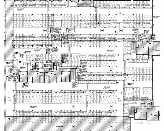 [安徽]住宅楼及地下车库通风消防排烟系统设计施工图(大院设计)