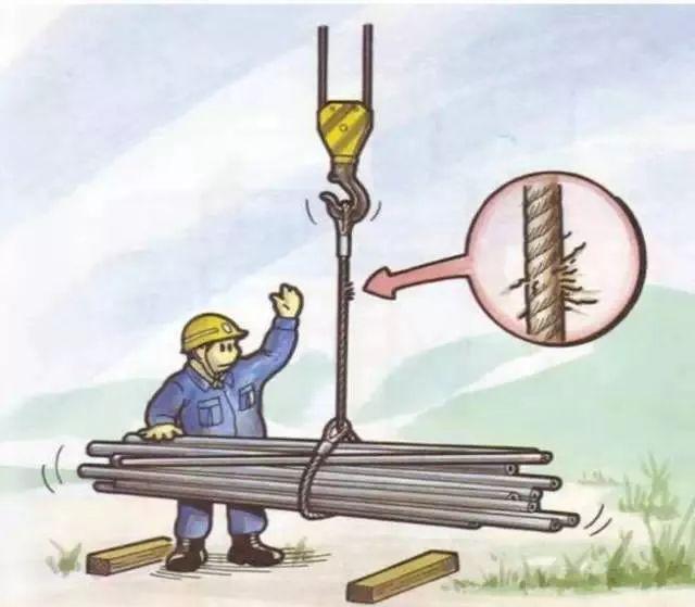 工地施工危险及安全对策漫画图集