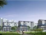 北京经济技术开发区24#地居住区规划归档建筑施工图(华东院图纸