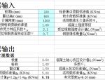 雨蓬计算程序兼计算书(新规范)