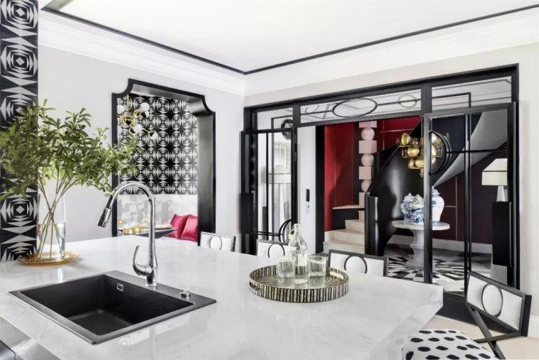 跃层都市公寓融入4种风格后,竟然如此惊艳!_9