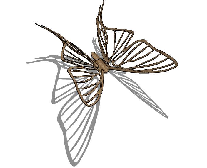 动物雕塑SU模型合集(113个)