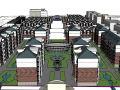 超完整住宅总图金湖总体模型