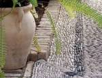 一堆石子,美了整个院子