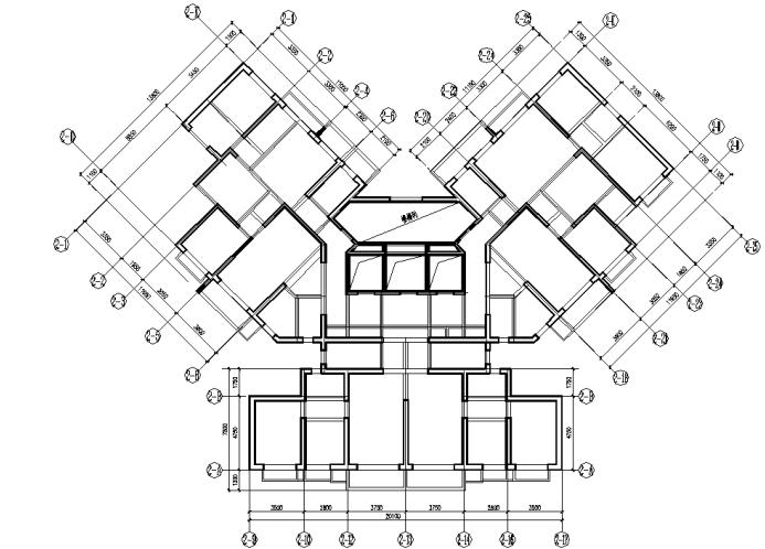 复杂平面点式高层剪力墙结构抗震设计探讨图片