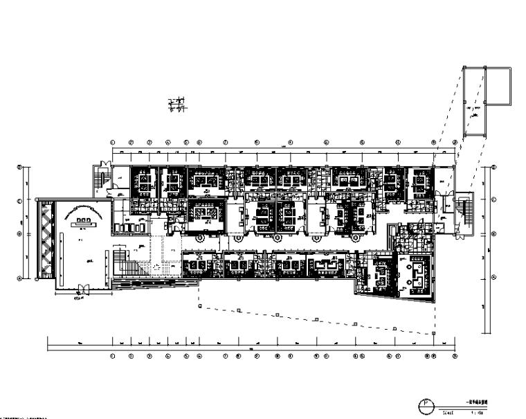 皇家一号夜总会空间设计施工图(另附效果图)