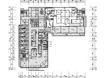 江苏6层医院强弱电电气施工图(含装饰电气)