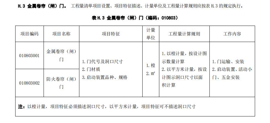 2013-建设工程工程量清单计价规范完整版_2