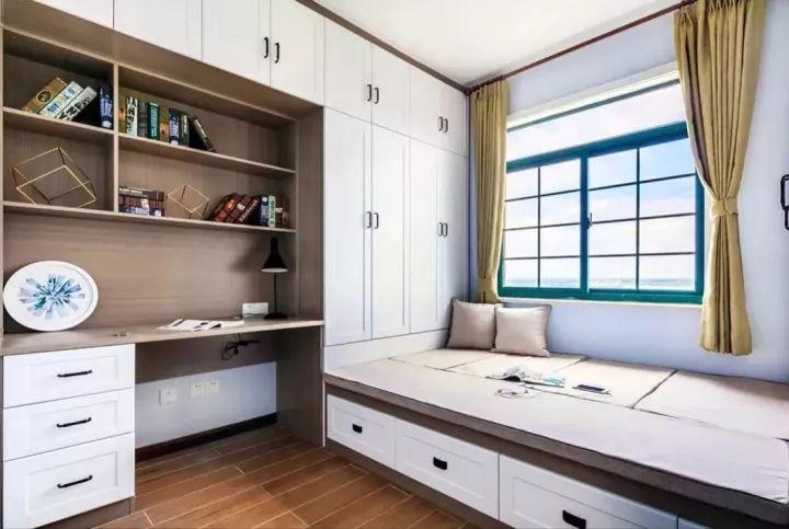 榻榻米床+柜子如何组合设计?35个案例告诉你..._3