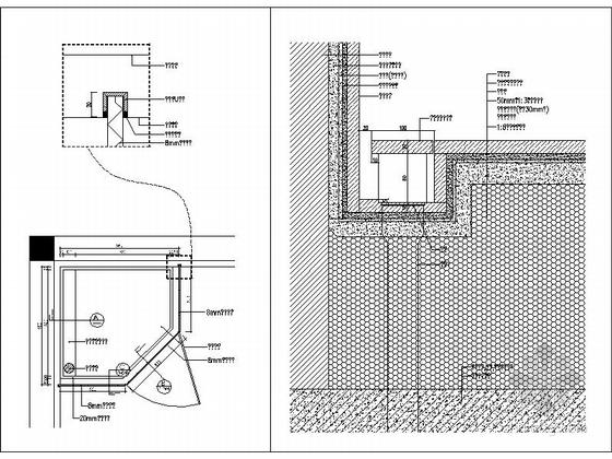 [成都]北美风格三层别墅样板间室内装修图(含方案文本) 节点